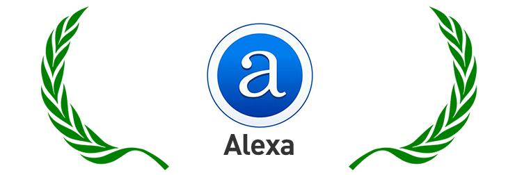 Logo de la société d'analyses Web Alexa