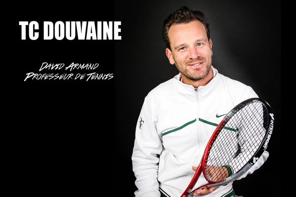 David Armand enseignant de tennis à Douvaine