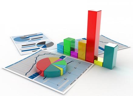 Données statistiques en 3D facilitant la prise de décision entrepreneurial