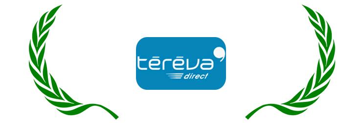 Logo de Tereva-Direct, entreprise de fournitures pour le bâtiment implanté dans l'Ain