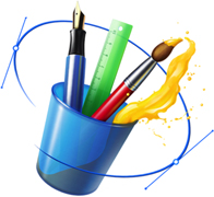 la plume et le pinceau: des outils de base pour le graphisme