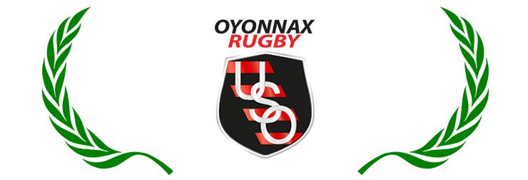 Logo de l'USO Rugby club de rugby d'Oyonnax