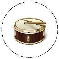Le tambour illustre la notion de tempo